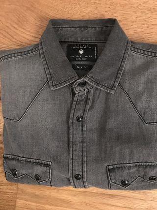 Zara camisa tejana