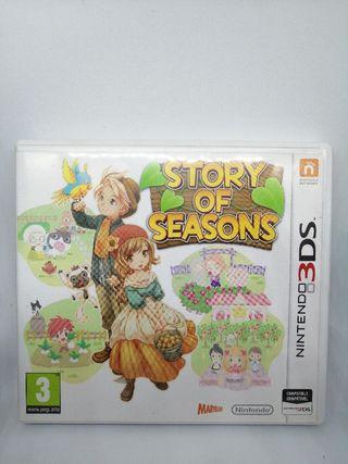 Juego Nintendo 3DS-Story of Seasons