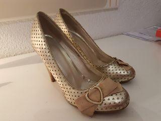 Zapatos dorados n° 36