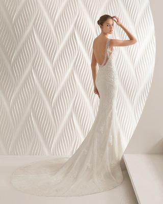 a611c34801 Vestido de novia Rosa Clara de segunda mano en Santander en WALLAPOP