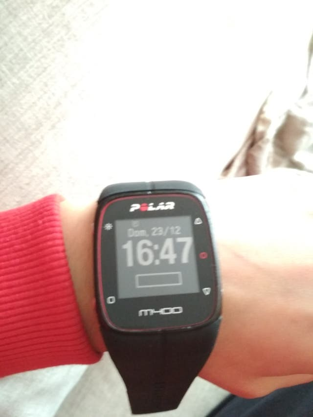 cec43243e17a Polar M400 Reloj entrenamiento GPS pulsometro de segunda mano por 58 ...