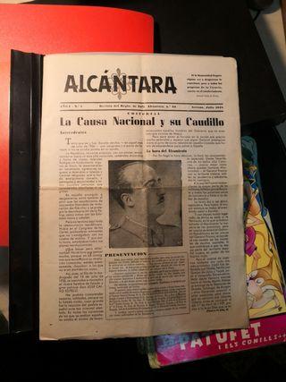 Revista regimiento inf. alcantara 33