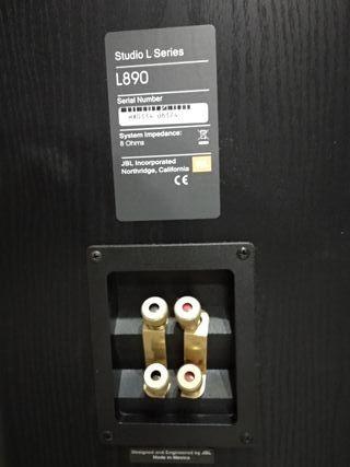2 x Altavoz JBL Studio L890.