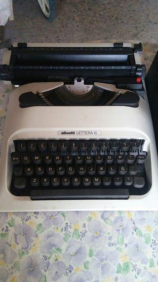 maquina de escribir olivetti lettera 10