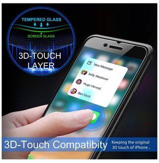 Cristal templado iPhone 6/7/8 (3 unidades)