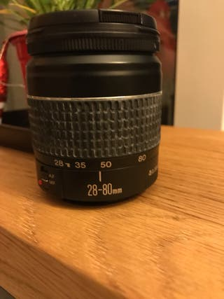 Objetivo Canon 28-80mm