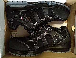 Por Mano nuevos De Zapatos 35 Segunda Seguridad qwTPCnxR4X