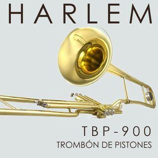Trombón tenor de pistones Harlem TBP-900 Nuevo!