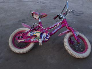 bicicleta niña de 4 años