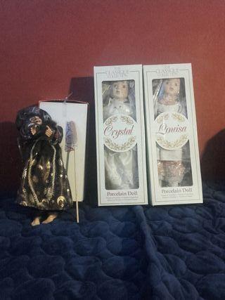 Muñecas de porcelana coleccionista