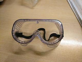 Gafas protección química