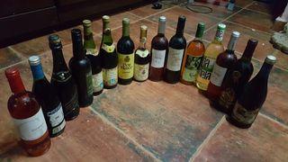 pack de 15 botellas de vinos