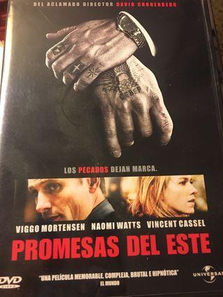 Pelicula dvd Promesas del este