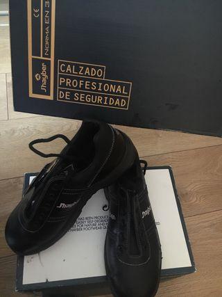 Zapatos de seguridad puntera de acero