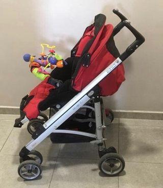 Pack silla de paseo, cuco y capazo Bébé Confort