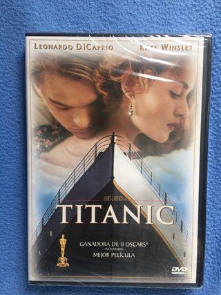 Titanic Película DVD aún con plástico