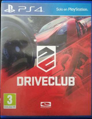 DRIVECLUB juego PS4