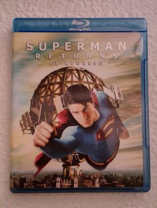 Superman Returns blu-ray (6x25€)