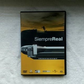 """DVD/""""Siempre Real"""" (Real Madrid) 2005"""