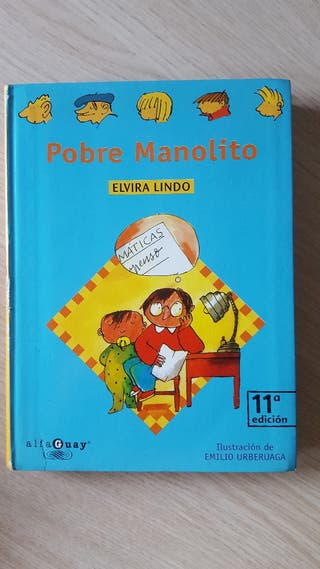 """Libro Manolito Gafotas """"Pobre Manolito"""""""