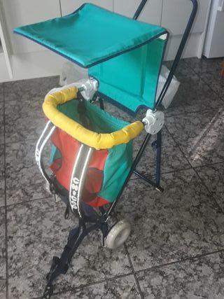 mochila portabebé para montaña