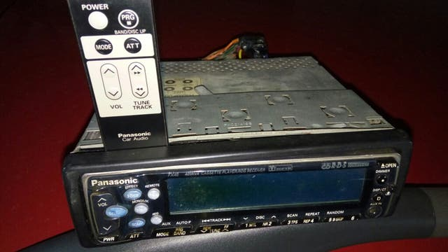 Radio casett panasonic