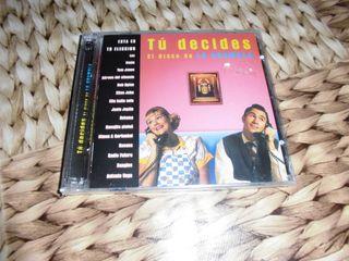 """Doble CD varios """"Tú decides el disco de la gramola"""
