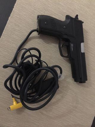 Pistola de playstation 2