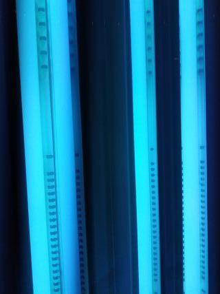 Máquina de rayos UVA