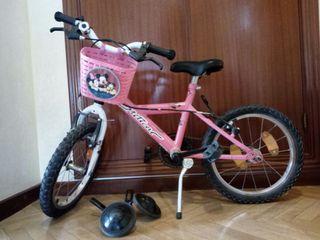 """Bicicleta infantil de 16"""""""