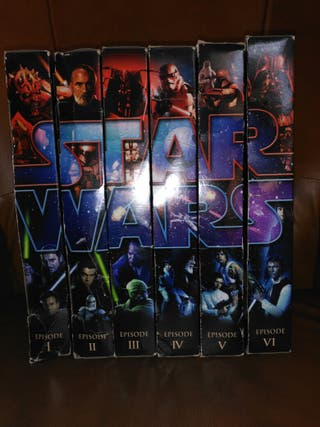 STAR WARS Blu-Ray Commemorative Figure 6 pack