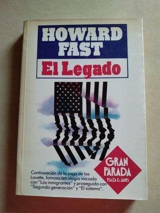 Libro: El legado (Howard Fast)