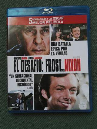 El desafío: Frost contra Nixon blu-ray (6x25€)
