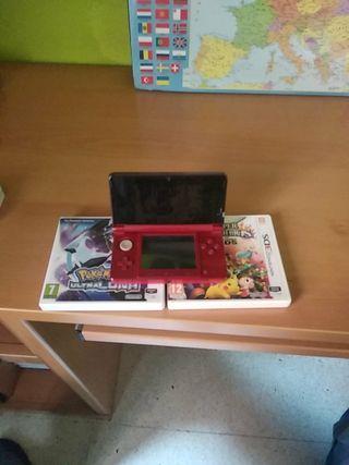 Nintendo 3ds + 2 juegos