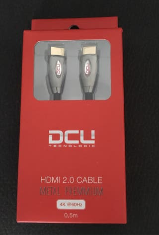 Cable HDMI 2.0 0,5 4K