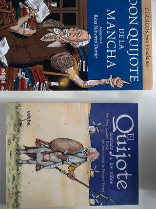 Don Quijote de la Mancha para niños