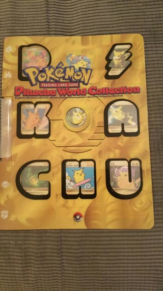 pokemon pikachu world collection 9 cards set