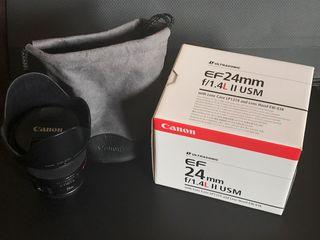 Objetivo Canon EF 24mm F/1.4L