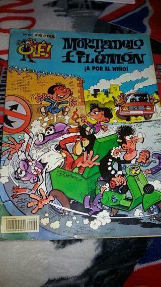 MORTADELO Y FILEMÓN ¡A POR EL NIÑO! N° 60 OLÉ!