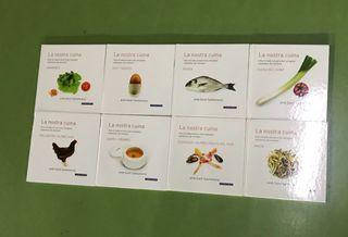 Lote de 8 libros de recetas de Santi Santamaría
