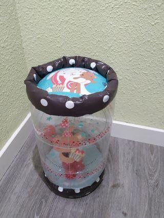 Baby Roller y Dados Apilables bebé