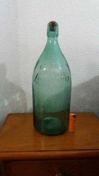 botella lanjaron antigua