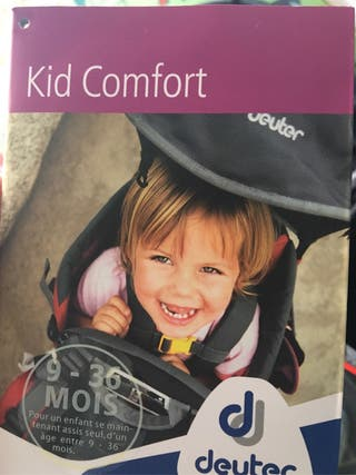 Portabebés Kid Confort Plus Deuter