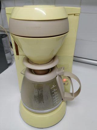 cafetera eléctrica filtro