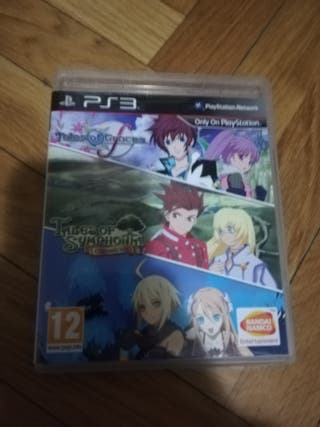 tales of Symphonia chronicles y tales of graces