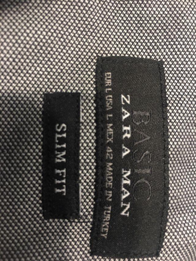 Camisa hombre Zara Man talla L