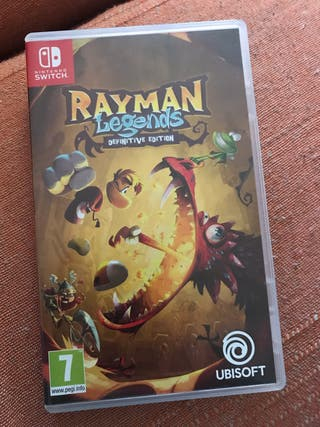 Juego rayman legends Nintendo switch