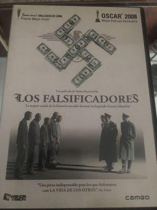 Pelicula dvd LOS FALSIFICADORES