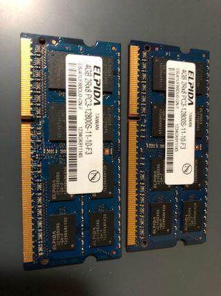 Memoria RAM MacBook Pro 8Gb
