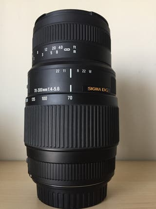 SIGMA 70-300mm F4 -5.6 DG MACRO (CANON)